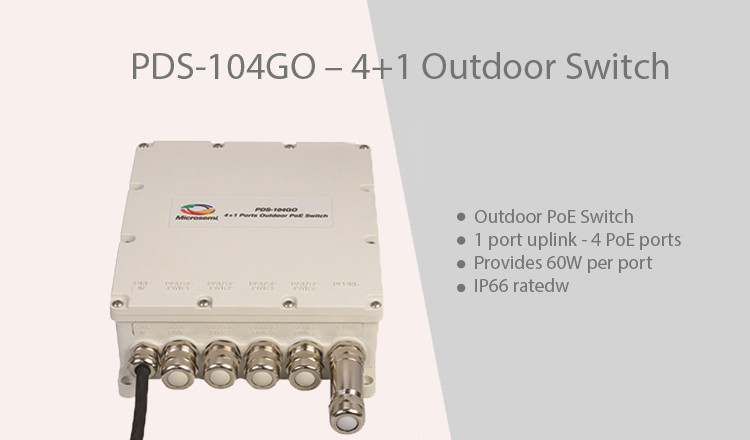 Microsemi PDS-104GO switch
