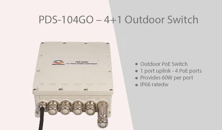 obr. Microsemi PDS-104GO switch